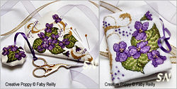 Violet Scissor Case and Needlebook from Faby Reilly Designs - click to see more