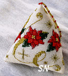 Faby Reilly Designs Poinsettia Humbug - click to see more