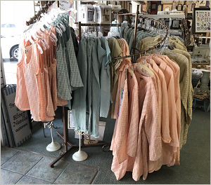 Click to see more of our new Flax linen clothing!