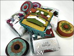 Circles & Stitches Hand-Made Pin Cushion Kits - click for more