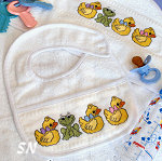 Pampered Baby Ducks & Froggy Chart -- click to see more