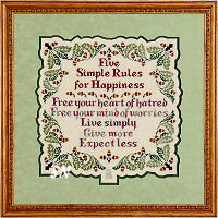 Five Simple Rules for Happiness from Glendon Place -- click to see more