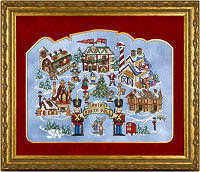 Santa's North Pole from Glendon Place -- click to see more