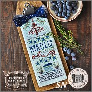 French Kitchen Myrtille et Thym from Summer House Stitche Workes - click to see more