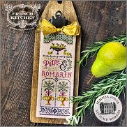 French Kitchen Poire et Romarin Pear & Rosemary from Summer House Stitche Workes - click to see more