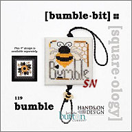 Bumble Bit Square-ology Chart with Buttons from Hands-On Design