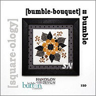 Bumble Bouquet Square-ology with Buttons from Hands-On Design