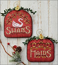 12 Days Swans & Maids from Hands-On Design