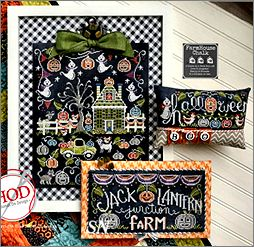 Farmhouse Chalk #3 Jack-O-Lantern Junction Farm from Hands On Design - click to see more