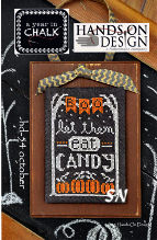October from Year in Chalk by Hands On Design - click to see more