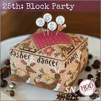 25th: Block Party from Hands On Design - click to see more