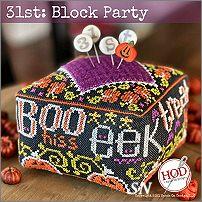 31st: Block Party from Hands On Design - click to see more