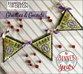 A Banner Year Ghosties & Gourds from Hands On Design - click to see more