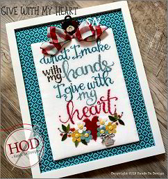 Give With My Heart from Hands On Design - click to see more