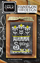 April from A Year in Chalk by Hands On Design - click to see more
