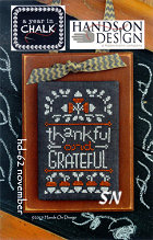 November  from Year in Chalk by Hands On Design - click to see more