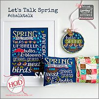 Chalk Talk Let's Talk Spring from Hands On Design - click to see more