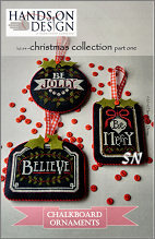 Chalkboard Ornaments, Collection 1 from Hands-On Design - click to see more