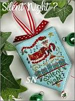 Secret Santa hd-212 Silent Night from Hands On Design - click to see more