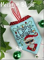 Secret Santa hd-213 Merry & Bright from Hands On Design - click to see more