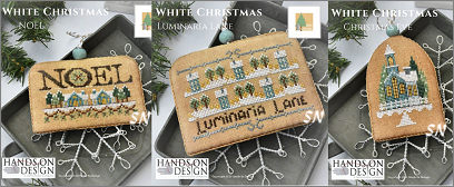 White Christmas Set 2 from Hands On Design - click to see more