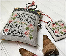 Stitching is My Heart's Desire from Hands On Design - click to see more