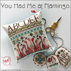You Had Me At Flamingos from Hands On Design - click to see more