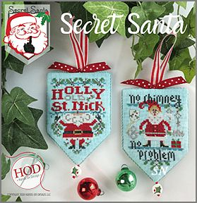 The Secret Santa Series from Hands On Design - click to see more