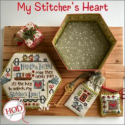 My Stitcher's Heart from Hands On Design - click to see more