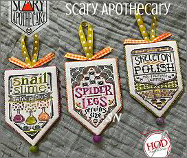 Scary Apothecary Part Three from Hands On Design - click to see more