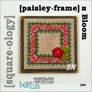 Square-ology 104 Bloom Paisley Frame by JABCO and Hands On Design - click to see more