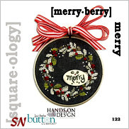 Square-ology 122 Merry Berry by JABCO and Hands On Design - click to see more