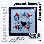 Square-ology 114 Pennant Frame by JABCO and Hands On Design - click to see more