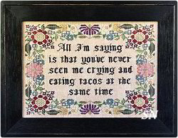 The Choose Your Own Motto Sampler from Heartstring Samplery - click for more