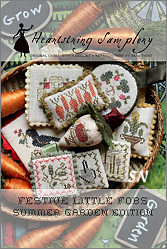 Festive Little Fobs #8 - Summer Garden Edition from Heartstring Samplery - click for more