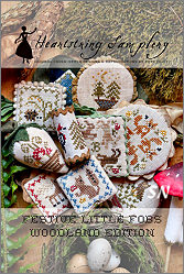 Festive Little Fobs #7 - Seaside Edition from Heartstring Samplery - click for more