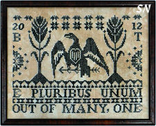 E Pluribus Unum from Heartstring Samplery - click for more