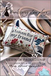 Sewn In Friendship from Heartstring Samplery