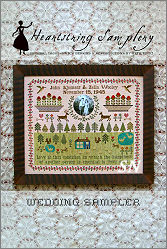 The Wedding Sampler from Heartstring Samplery - click for more