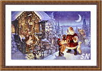 Santa Claus at The North Pole from Heaven and Earth - click for more