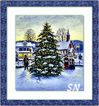 Town Christmas Tree from Heaven and Earth - click for more