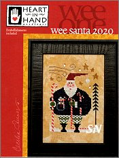 Wee Santa 2020 Wee One Card from Heart in Hand - click for more