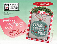 Merrymaking Mini Merry Christmas from Heart in Hand - click for more