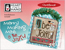 Merry Making Mini O Be Joyful from Heart in Hand - click for more