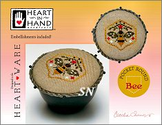 Pocket Round Bee from Heart in Hand - click for more