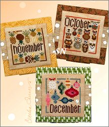 Square Dance - October, November and December from Heart in Hand - click for more