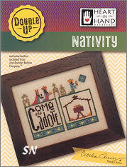Nativity Double Up from Heart in Hand - click for more