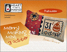 Merrymaking Mini 31 October from Heart in Hand - click for more