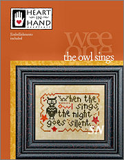 The Owl Sings Wee One Card from Heart in Hand - click for more