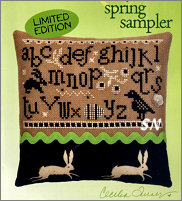 Black & White - Spring Sampler from Heart in Hand - click for more